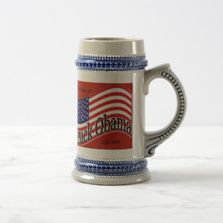 Obama Inauguration Commerative Stein Mugs