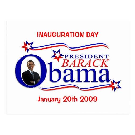 Obama Inauguration Day Celebration Postcard