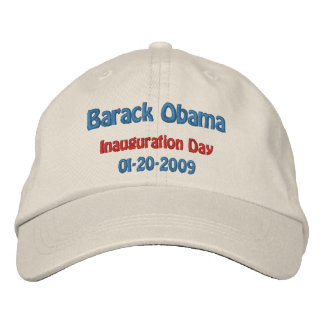 Obama Inauguration Day Collectors Embroidered Baseball Cap