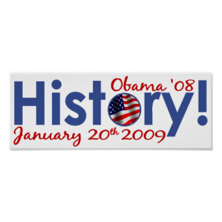 Obama Inauguration Day Print