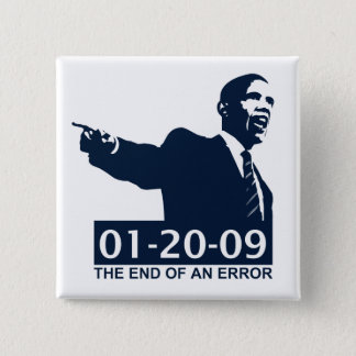 Obama Inauguration End of an Error Button