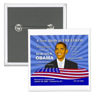 Obama Inauguration Events - Philadelphia Pin