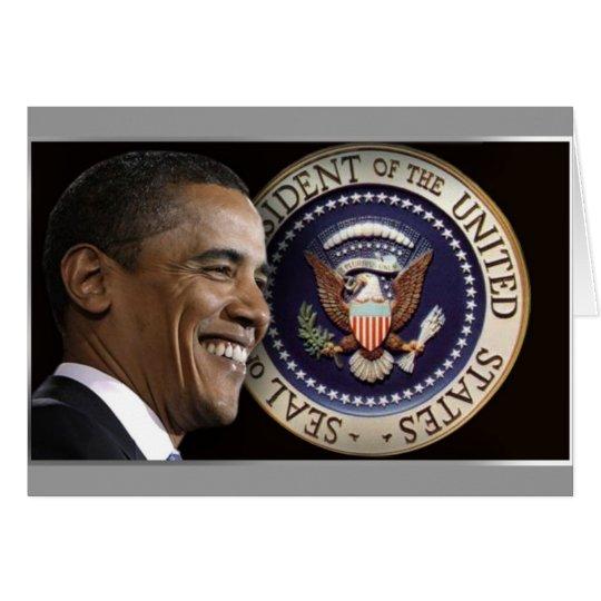 Obama Inauguration Keepsake Card