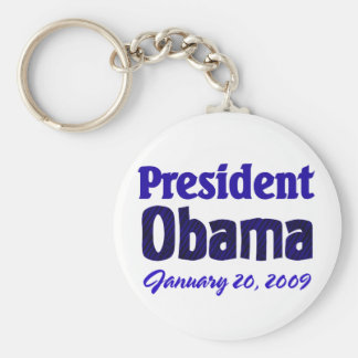 Obama Inauguration Keychain