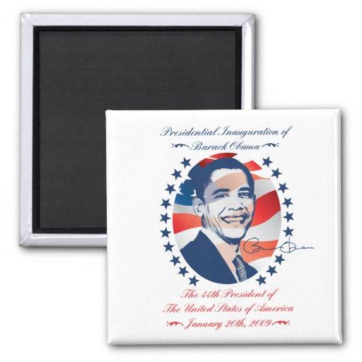 Obama Inauguration Magnet