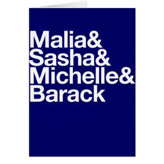 Obama Inauguration & More Card