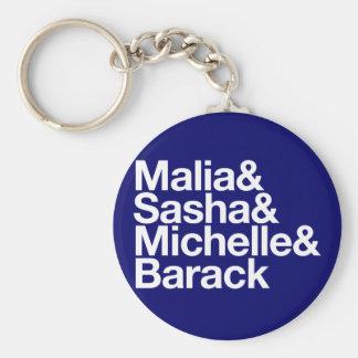 Obama Inauguration & More Basic Round Button Keychain