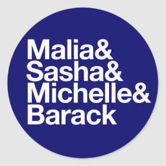Obama Inauguration & More Round Stickers