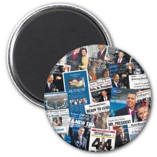 Obama Inauguration Newspaper Magnet