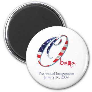 Obama-Inauguration-O-1 Fridge Magnets