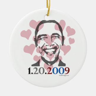 Obama Inauguration Ornament