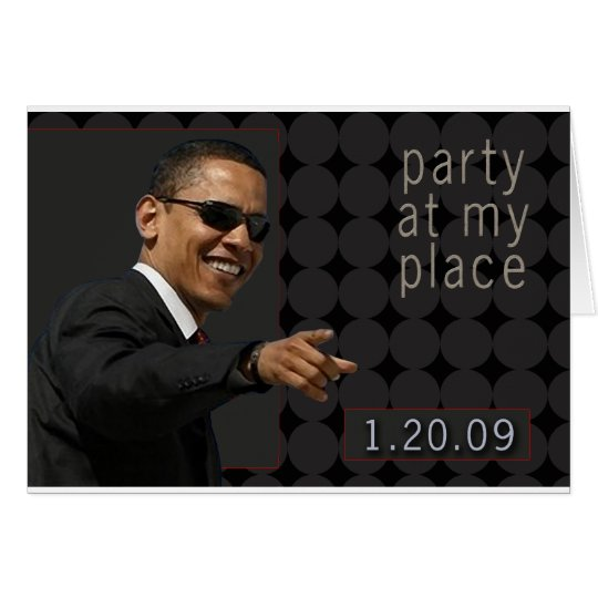 Obama Inauguration Party Invite