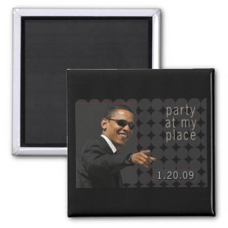 Obama Inauguration Party Invite - Magnet