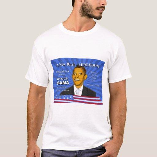 Obama Inauguration Philadelphia Celebration T-Shirt