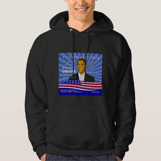 Obama Inauguration Philadelphia Event Hoodie