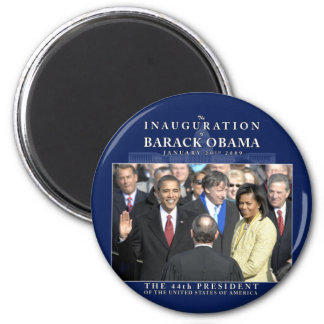 Obama Inauguration Photo Fridge Magnet