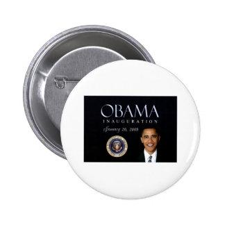 Obama inauguration pinback button