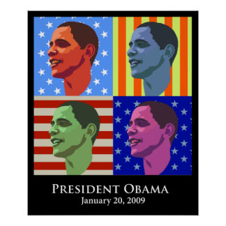 Obama  Inauguration Posters