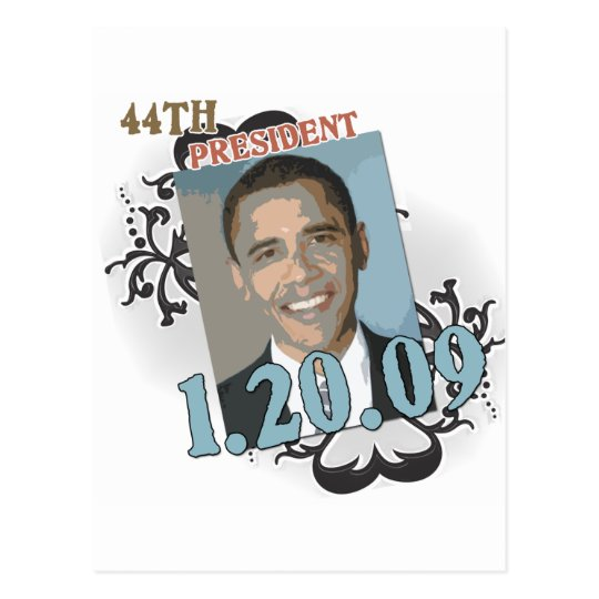 Obama Inauguration Products Postcard