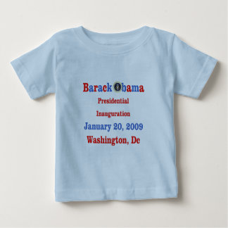 Obama Inauguration Souvenir Collectible Baby T-Shirt