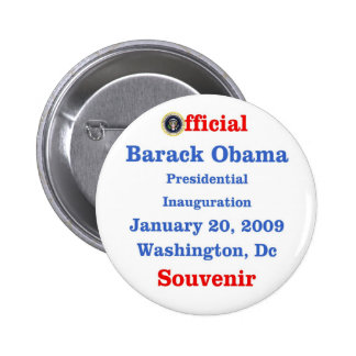 Obama Inauguration Souvenir Collectors Button
