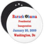 Obama Inauguration Souvenir Collectors Pinback Button