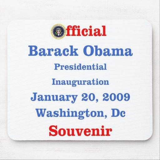 Obama Inauguration Souvenir Collectors Mouse Mats