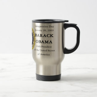 Obama Inauguration Souvenir Collectors Traveler Travel Mug