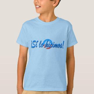 Obama Inauguration Spanish Si lo hicimos T-Shirt