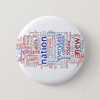 Obama Inauguration Speech Button