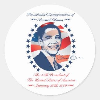 Obama Inauguration Sticker
