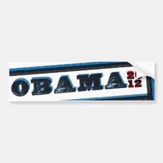 Obama inclinó a la pegatina para el parachoques de etiqueta de parachoque