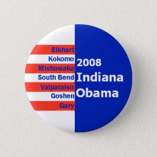 Obama INDIANA Button