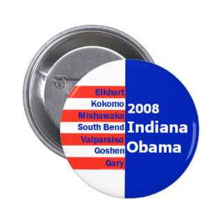Obama INDIANA Button