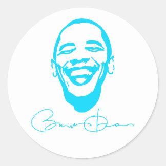 Obama Infectious Smile Signature Sticker