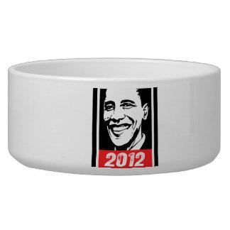 OBAMA INK ART 2012 -.png Dog Bowl