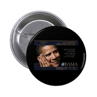 Obama Inspirational Quote Button