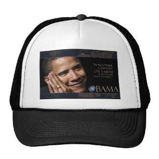 Obama Inspirational Quote Hat