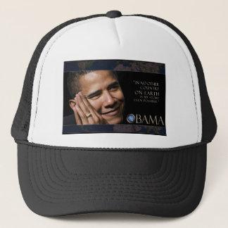 Obama Inspirational Quote Trucker Hat