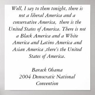 Obama Inspiring Poster