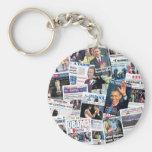 Obama International Inauguration Keychain