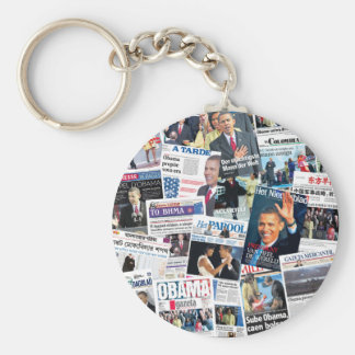 Obama International Inauguration Keychain