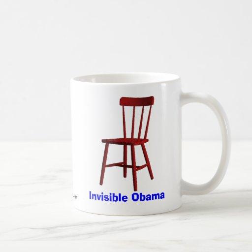 Obama invisible tazas de café
