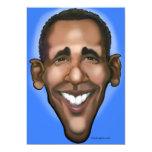 Obama Invitación 12,7 X 17,8 Cm
