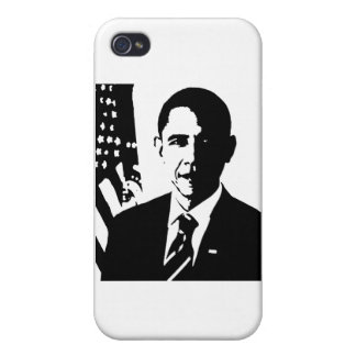 Obama iPhone 4 Carcasas