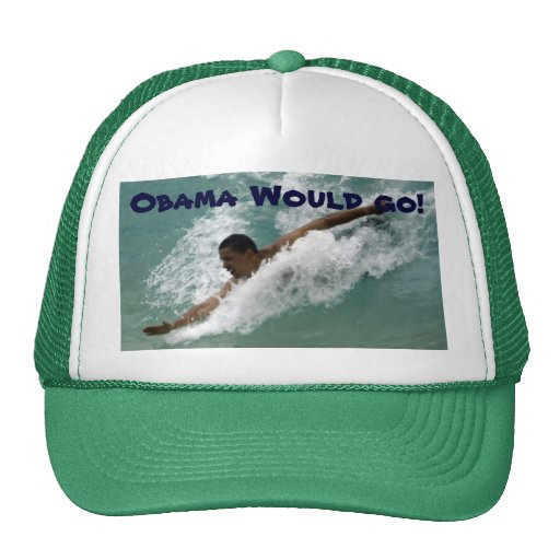 ¡Obama iría! ¡, Obama iría! Gorros
