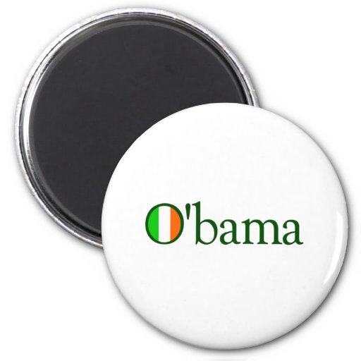 Obama Irish 2 Inch Round Magnet