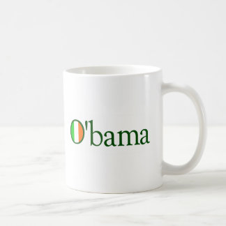 Obama Irish Coffee Mug