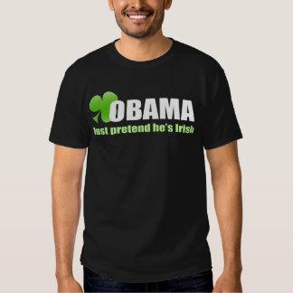 Obama Irish Dark T-Shirt
