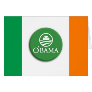 O'bama Irish - Greeting Card